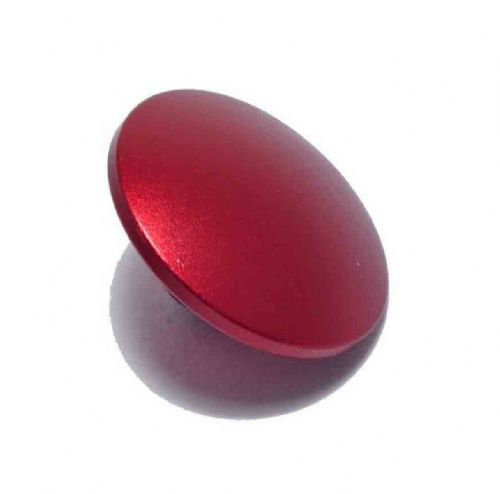 High Quality Shutter Button Soft Release Metal Convex Red